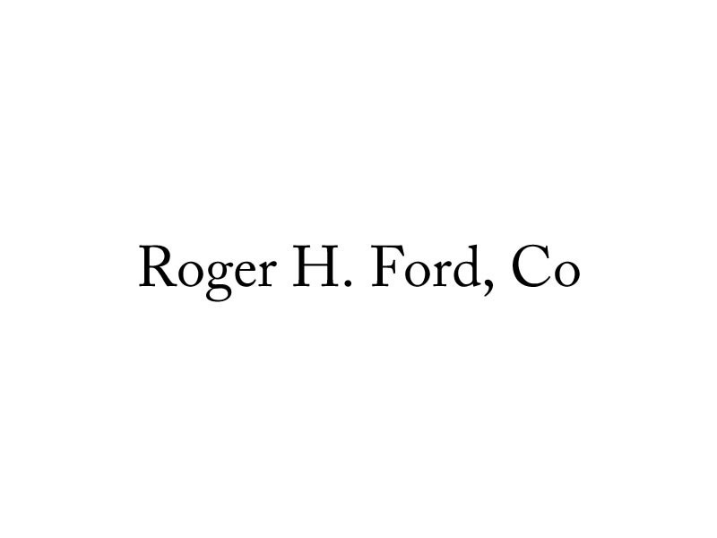 Roger H. Ford, Co.